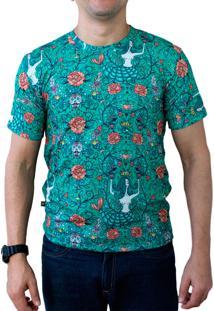 Camiseta Ops Mermaid Garden Estampada