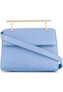 M2Malletier Bolsa Transversal 'Muse' Pequena - Azul