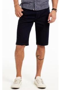 Bermuda Docthos Jeans - Masculino-Marinho