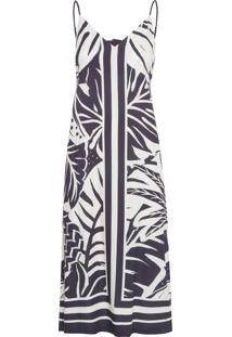 Vestido Cropped Sombra De Praia - Preto