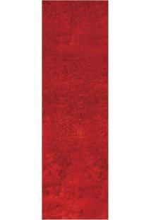 Passadeira Veludo Life Confort Red L100_L 66X230