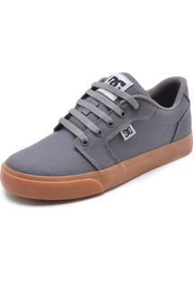 Tênis Dc Shoes Anvil Tx La Cinza