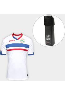 Kit Camisa Seleção Cuba Home 2017 S/Nº Torcedor Joma Masculina + Maquina Retrô Gama Italy Bivolt - Masculino
