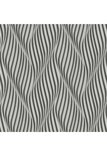 Papel De Parede Lymdecor Espiral Preto