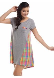 Camisola Inspirate Xadrez Color Cinza