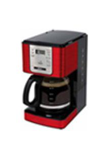 Cafeteira Oster Flavor Vermelha Programavel - 220V