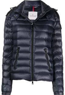Moncler Hooded Padded Jacket - Azul