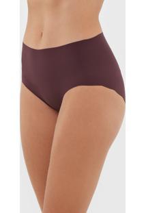Calcinha Liz Hot Pant Lisa Roxa - Roxo - Feminino - Poliamida - Dafiti
