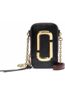 Marc Jacobs Bolsa Transversal The Hot Shot - Preto