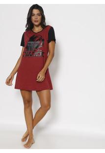 Camisola Star Wars® - Preta & Vermelho Escurolupo