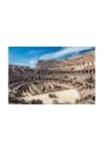 Painel Adesivo De Parede - Coliseu - Roma - Itália - 814Pnm