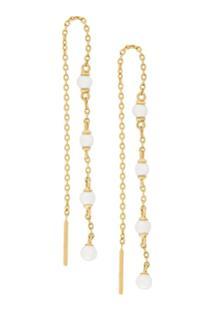 Astley Clarke Par De Brincos 'Calder' De Ouro 18Kt - Metálico