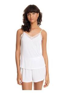 Shorts Doll Alca Night Branco
