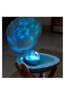 Luminária Projetora Pérola Azul Claro