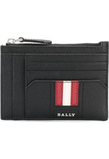 Bally Porta-Moedas Com Zíper - Preto