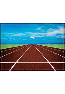 Jogo Americano Decorativo, Criativo E Descolado | Pista De Atletismo - Tamanho 30 X 40 Cm