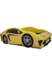 Cama Carro Aventador - Cama Carro Amarelo