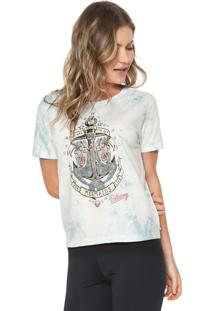 Camiseta Billabong Love Mermaids Azul