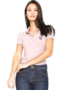 Camisa Pólo Lez A Lez Rosa feminina  75c6fa0bb8f4f
