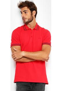 Camisa Polo Colcci Piquet Elastano Masculina - Masculino