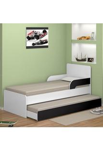 Bicama 735 Multidecor Branco/Preto - Multimoveis