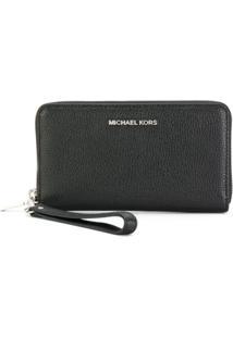 Michael Michael Kors Carteira Grande Para Smartphone 'Studio' - Preto