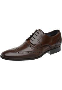 Sapato Malbork Oxford Marrom