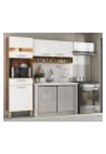 Cozinha Compacta 3 Peças Dama 99101 Amendola Branco Demobile