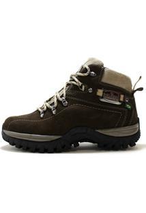 Bota Coturno Helazza Boots Adventure Marrom