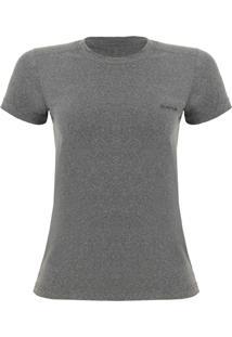 Camiseta Feminina Silver Mc Cinza Vfa202