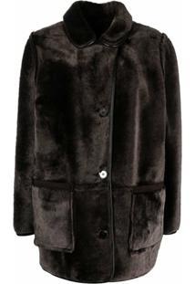 Ymc Reversible Lambskin Jacket - Marrom