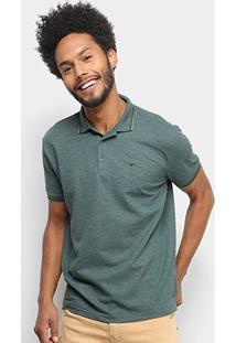 Camisa Polo Ellus Básica Masculina - Masculino-Verde Militar
