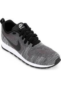 Tênis Nike Md Runner 2 19 Feminino - Feminino-Preto+Chumbo