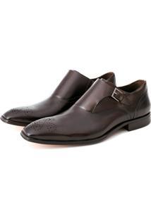 Sapato Enrico Boaretto Lorenzo Monk Straps Brown