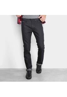 Calça Jeans Slim Calvin Klein Masculina - Masculino-Preto