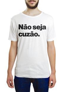Camiseta Hunter Não Seja Branca