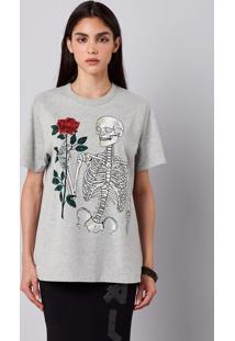 Camiseta Unissex Estampada Hering + À La Garçonne