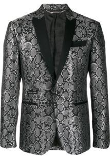 Philipp Plein Blazer Elegant - Preto