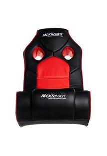 Poltrona Gamer Max Racer Mobi Advanced, Som Integrado, Preta/Vermelha - Mob-Adv-01