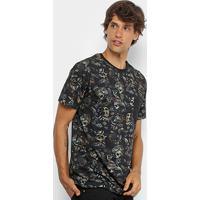 Camiseta Mcd Especial Full Nightmare Masculina - Masculino-Bege f62ede9159e
