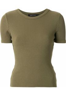 Nobody Denim Camiseta Luxe Bound Canelada - Verde
