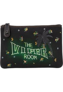 Coach Coach X Viper Room Clutch Bag - Preto