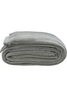 Cobertor Queen Size- Cinza- 220X240Cm- Sultansultan
