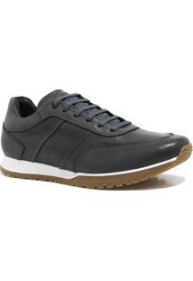 Sapatênis Zariff Shoes Casual - Masculino-Grafite