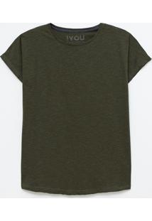 Camiseta Alongada Eco