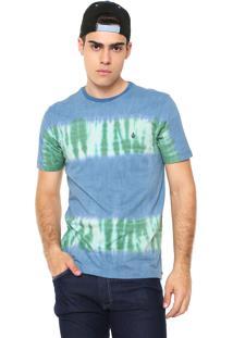 Camiseta Volcom Flower Power Azul
