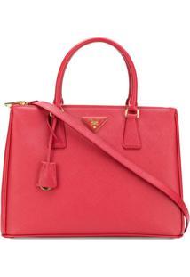 1a946cf72 R$ 11350,00. Farfetch Bolsa Ethos Prada Feminina Vermelha De Grife Tote  Fashion Couro ...