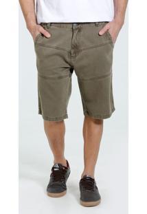 Bermuda Masculina Reta Jeans Marisa