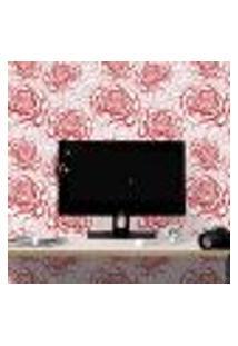 Papel De Parede Autocolante Rolo 0,58 X 3M - Floral 678