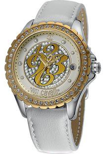 34862e2f52ef1 Relógio Digital Branco Just Cavalli feminino